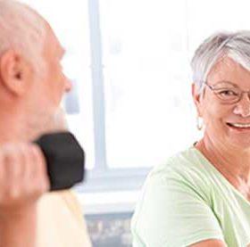 ejercicios de fuerza para personas mayores